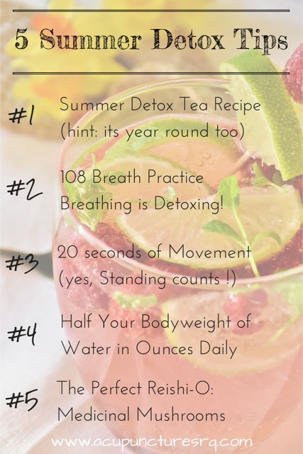 Natural Detox Tips
